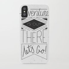 Adventure Is Out There iPhone X Slim Case
