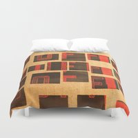 coffe Duvet Covers featuring Coffe - Vintage Drink by Fernando Vieira