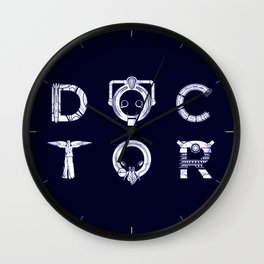DOCTOR (Letters) Wall Clock