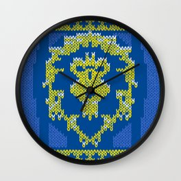 Ugly Sweater 1 Wall Clock