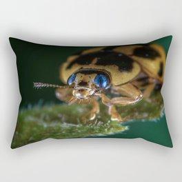 Bug View Rectangular Pillow