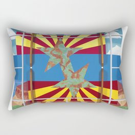 Altered State: AZ Rectangular Pillow