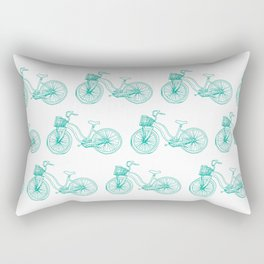 Two suspension mountain bike Rectangular Pillow