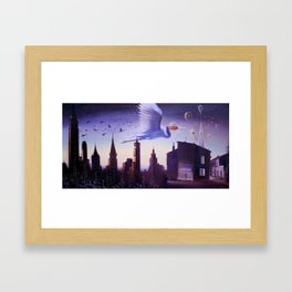The route of Talanak Framed Art Print