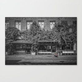 Ground Photographer Canvas Print