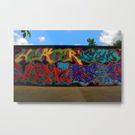 Atlanta Street Art Metal Print