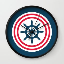 Sailing wheel Wall Clock