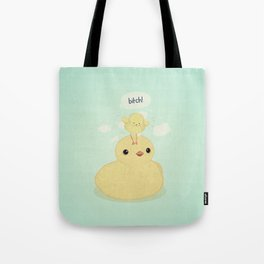 the dark side of fluff Tote Bag