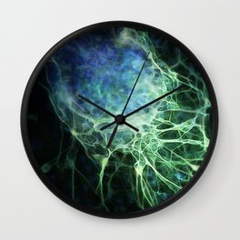 Stem Cell Becoming a Nerve Wall Clock