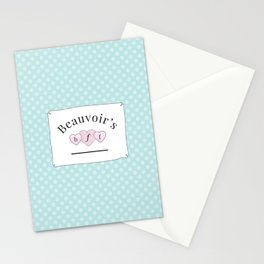 Beauvoir's B.F.F. Stationery Cards