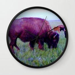 Pte Oyate, Buffalo Nation Wall Clock