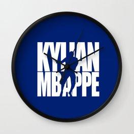 Name: Mbappe Wall Clock