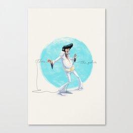 Elvis the Pelvis Canvas Print