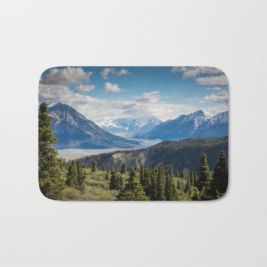 Mountain Landscape # sky Bath Mat
