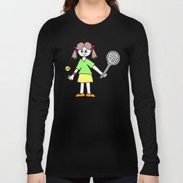 Tennis Girl Long Sleeve T-shirt