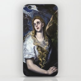 El Greco -  Mary Magdalen in Penitence iPhone Skin