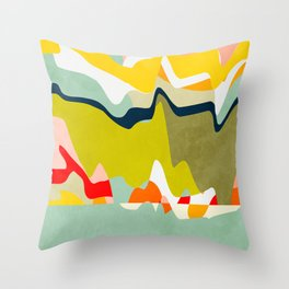 dream-scape Throw Pillow