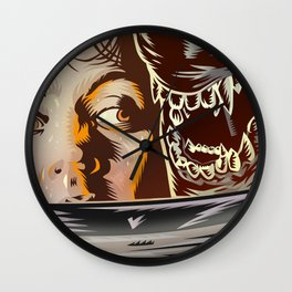 Alien - Movie  Poster Wall Clock