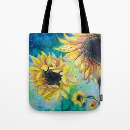 Supermassive Sunflowers Tote Bag