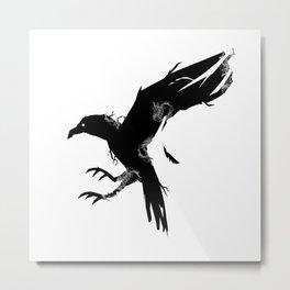 Gorhic Eagle Silhouette Metal Print