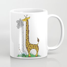 Long Long Giraffe Bong Coffee Mug