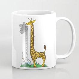 Long Long Giraffe Bong Coffee Mug