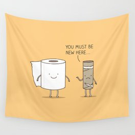 paperwork Wall Tapestry