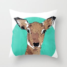 Deary Me Throw Pillow
