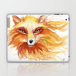 A Fire Fox Laptop & iPad Skin