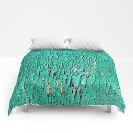 Shedding Green Comforters