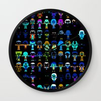 starfox Wall Clocks featuring THE ULTIMATE 'AVENGER'S' ROBOTIC COLLECTION by We Are Robotic