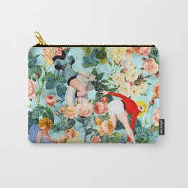 Floral and Pin Up Girls II Pattern Carry-All Pouch