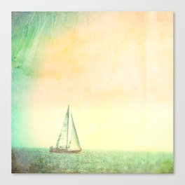 A day at Sea Canvas Print