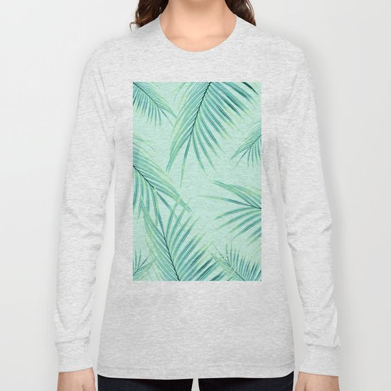 Summer Palm Leaves Dream #1 #tropical #decor #art #society6 by anitabellajantz