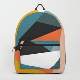 Modern Geometric 36 Backpack