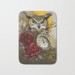 Time is Wise Bath Mat