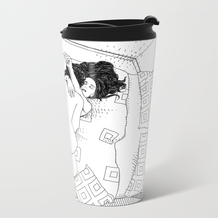 asc 547 - My New Year's resolutions - February Metal Travel Mug
