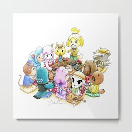 The delicious reunion Metal Print