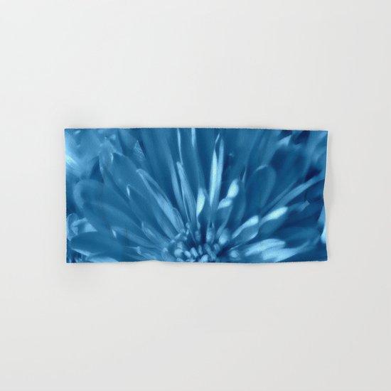 Soft Sky Blue Mums Hand & Bath Towel