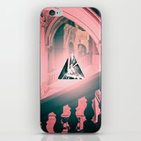 logo iPhone & iPod Skins featuring logo by Adrianna Bykowska