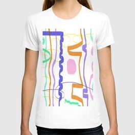 Minimal Lines Abstract T-shirt