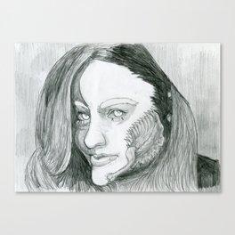 Lady Menace Canvas Print