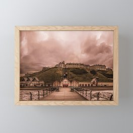 View from the Pier Framed Mini Art Print
