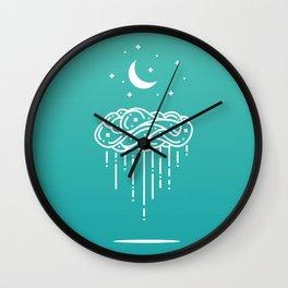 Rainy Night 2 Wall Clock