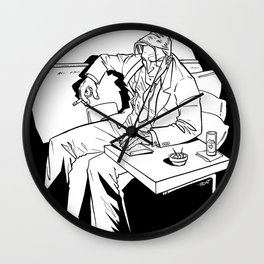 Spotlight on Mike Wall Clock