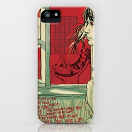 hang this girl iPhone Case