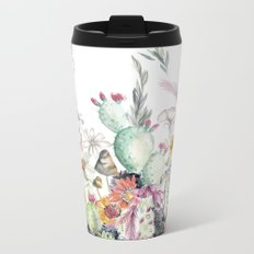 Santa Fe Cactus Love Metal Travel Mug