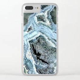 Ocean Jasper Clear iPhone Case