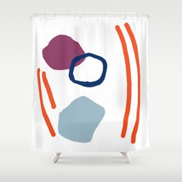 Sorrow and Hope Shower Curtain