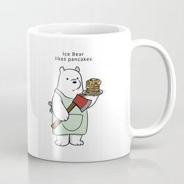 Ice Bear likes pancakes Coffee Mug